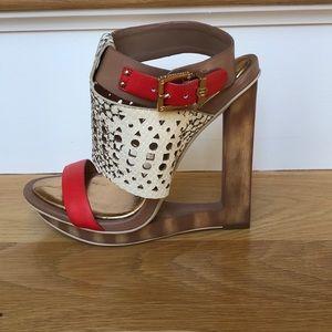 BCBGMaxazria sandals. Great condition!